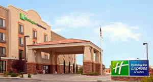 hotel management company - Holiday Inn Express & Suites, Twentynine Palms, CA